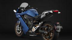 Nuova Zero Motorcycles SR/S: visuale di 3/4 posteriore