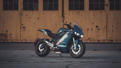 Nuova Zero Motorcycles SR/S: visuale laterale