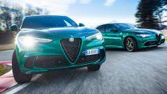 Nuove Alfa Romeo Giulia e Stelvio Quadrifoglio