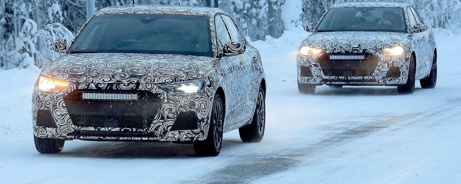 Nuove Audi A1 2018 quasi pronte per il lancio