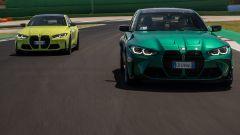 Nuove BMW M3 3 M4 Competition, circuito di Misano Adriatico
