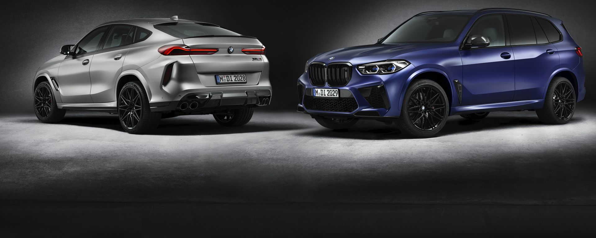 Nuove BMW X5 e X6 M Competition First Edition