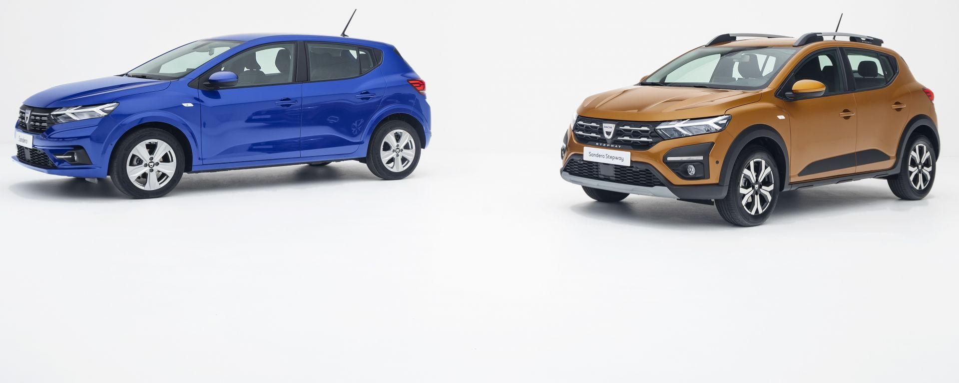 Nuove Dacia Sandero e Sandero Stepway (2021)