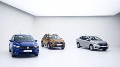 Nuove Dacia Sandero, Sandero Stepway e Logan