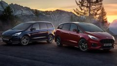 Nuove Ford Galaxy ed S-Max Hybrid