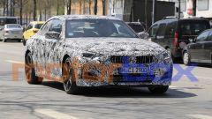 Nuove foto spia di BMW Serie 2 Coupé: visuale anteriore