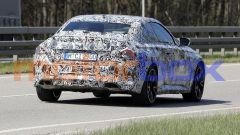 Nuove foto spia di BMW Serie 2 Coupé: visuale posteriore