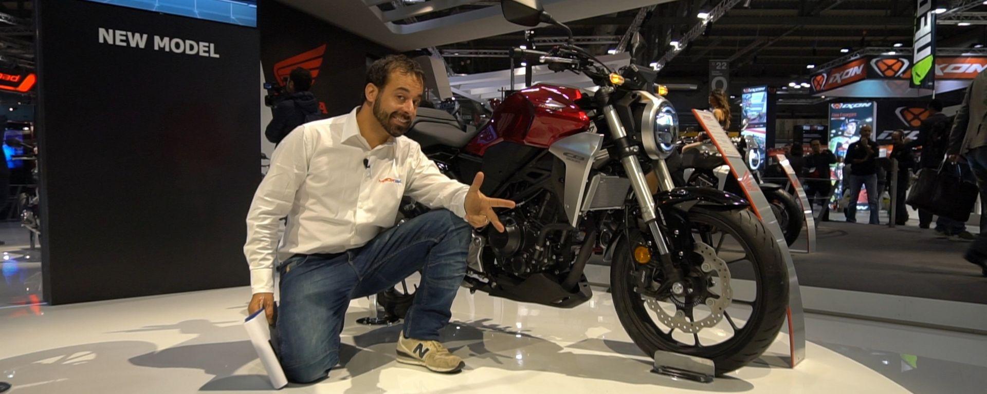 Nuove Honda CB300R e CB125R: piccole ma cattivissime [VIDEO]