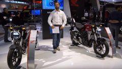 Nuove Honda CB300R e CB125R: in video da Eicma 2017