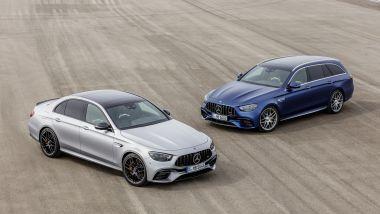 Nuove Mercedes-AMG E 63 S berlina e SW