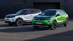 Nuove Opel Mokka e Opel Mokka-e
