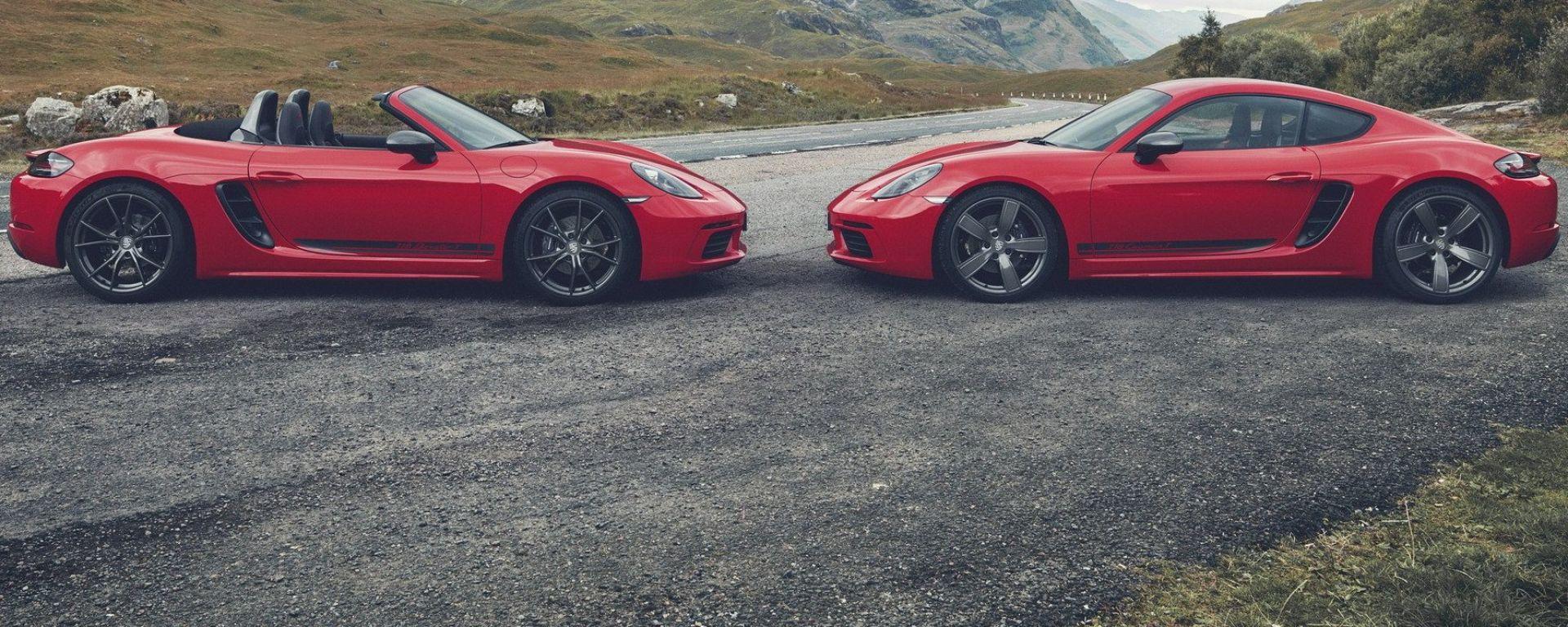 Porsche 718 Cayman e Boxster T: la sportiva come dovrebbe essere