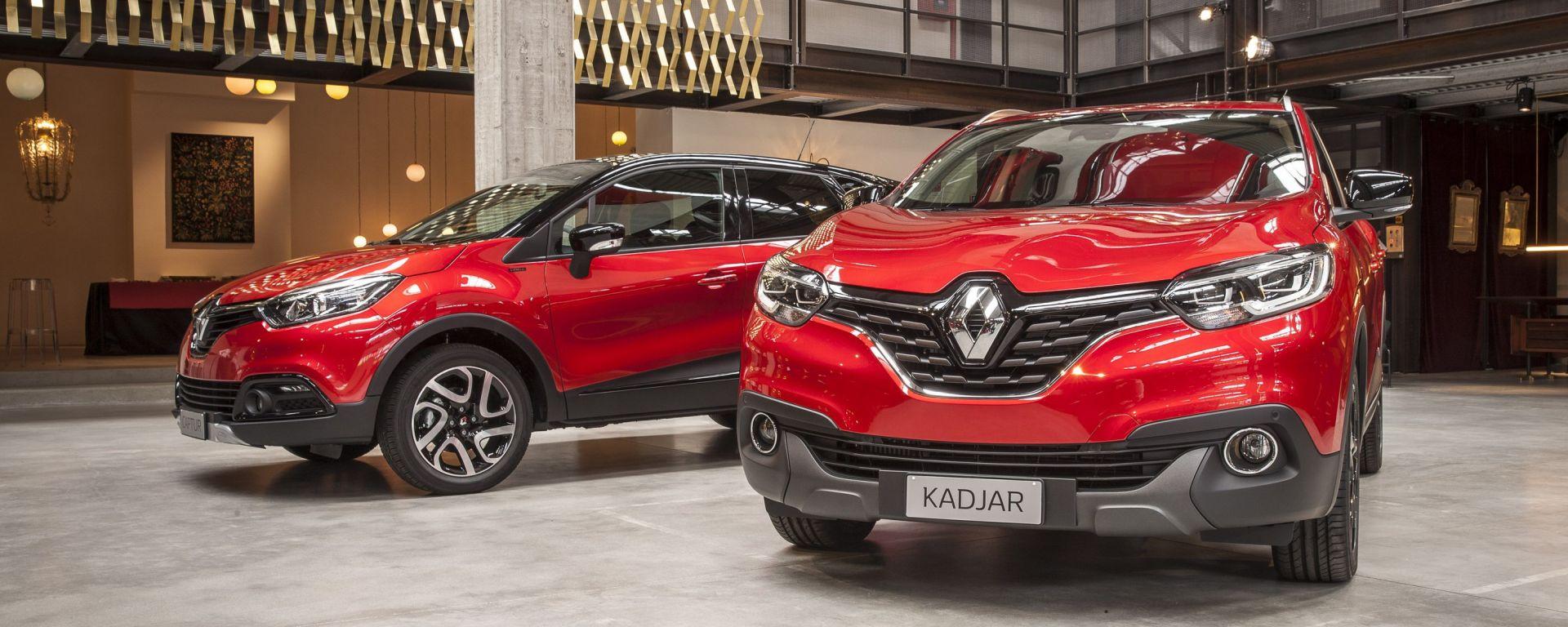 Renault: ecco la serie limitata Hypnotic per Kadjar e Captur