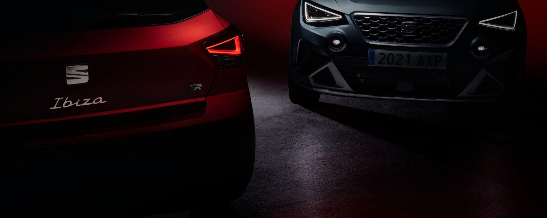 Nuove Seat Ibiza e Arona 2021: presentazione in diretta streaming