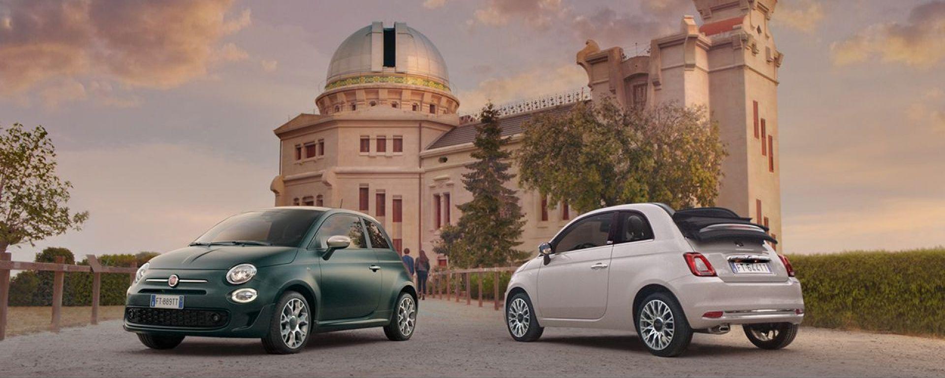 Nuovi allestimenti Star e Rockstar Fiat 500