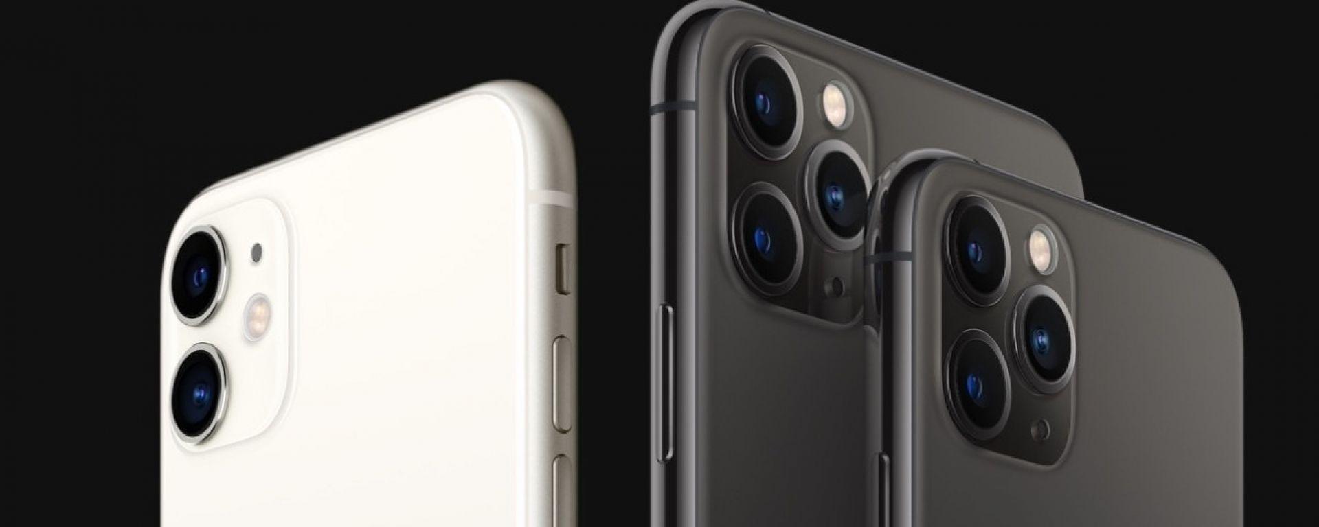 Nuovi iPhone 11, iPhone 11 Pro e iPhone 11 Pro Max
