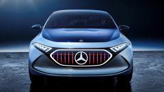 Nuovi modelli Mercedes: il frontale della EQA Concept del 2017
