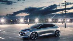 Nuovi modelli Mercedes: la EQA Concept dalla quale potrebbe nascere la Classe A City