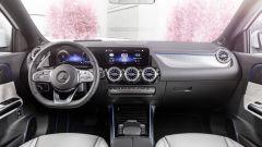 Nuovi modelli Mercedes: l'abitacolo della EQA 2021