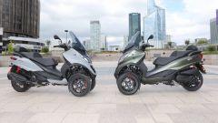 Nuovi motori per il Piaggio MP3: 350cc e 500cc