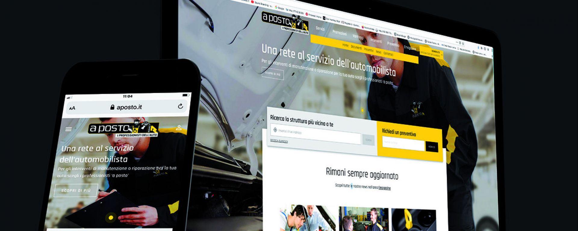 Nuovi siti per la rete Rhiag: disponibili per computer e mobile