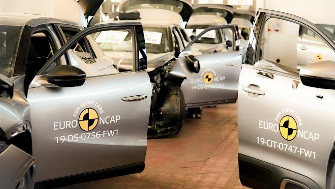 Nuovi test Euro NCAP 2020: i parametri