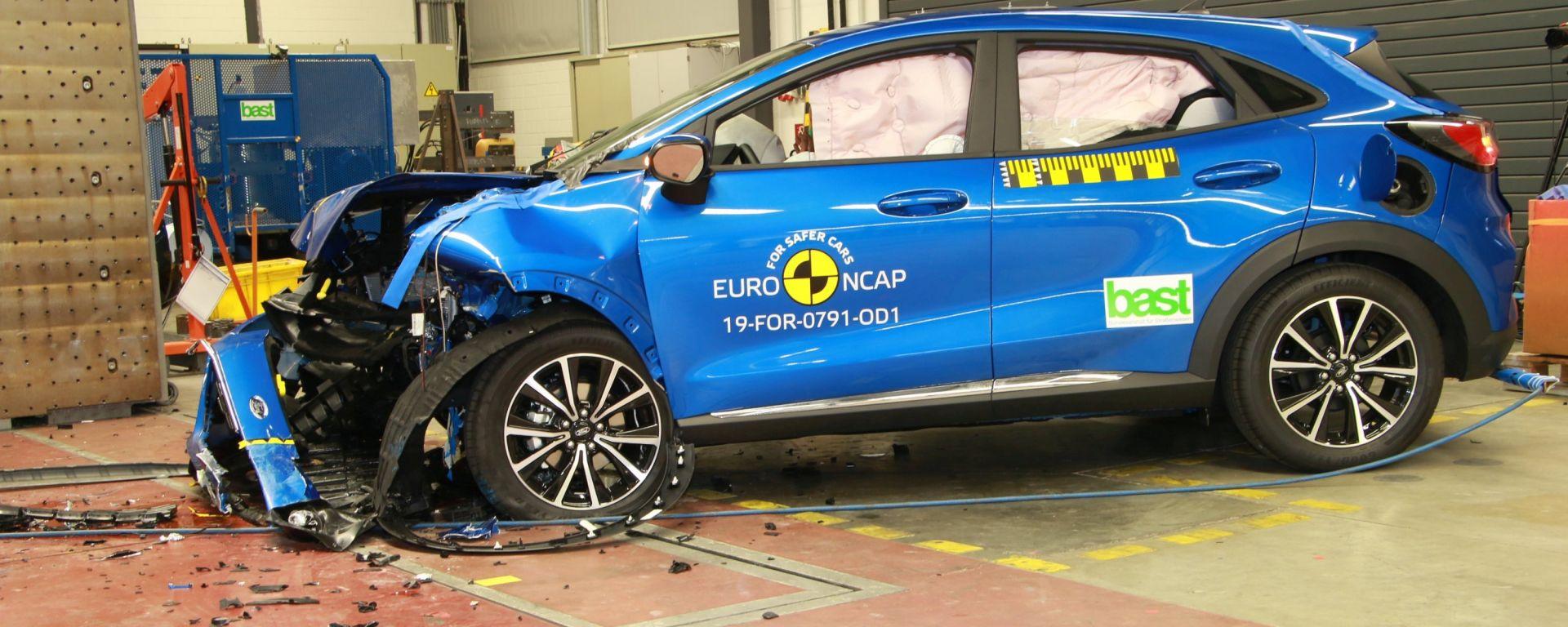 Nuovi test Euro NCAP 2020: urti frontali e protezione degli occupanti