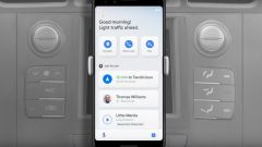 Nuovo Android Auto: dettaglio sistema multitasking