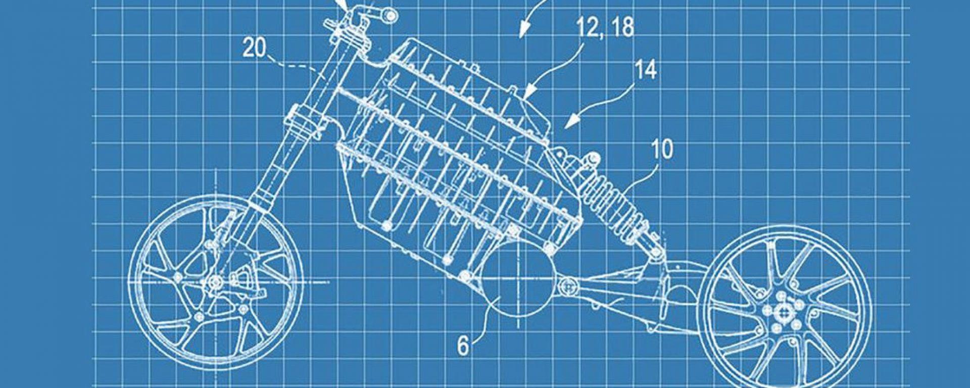 Nuovo brevetto BMW: il futuro della moto elettrica