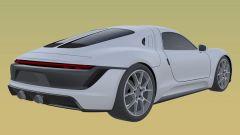 Nuovo brevetto Porsche: il design molto originale del nuovo modello