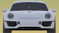 Nuovo brevetto Porsche: il frontale con i fari rotondi