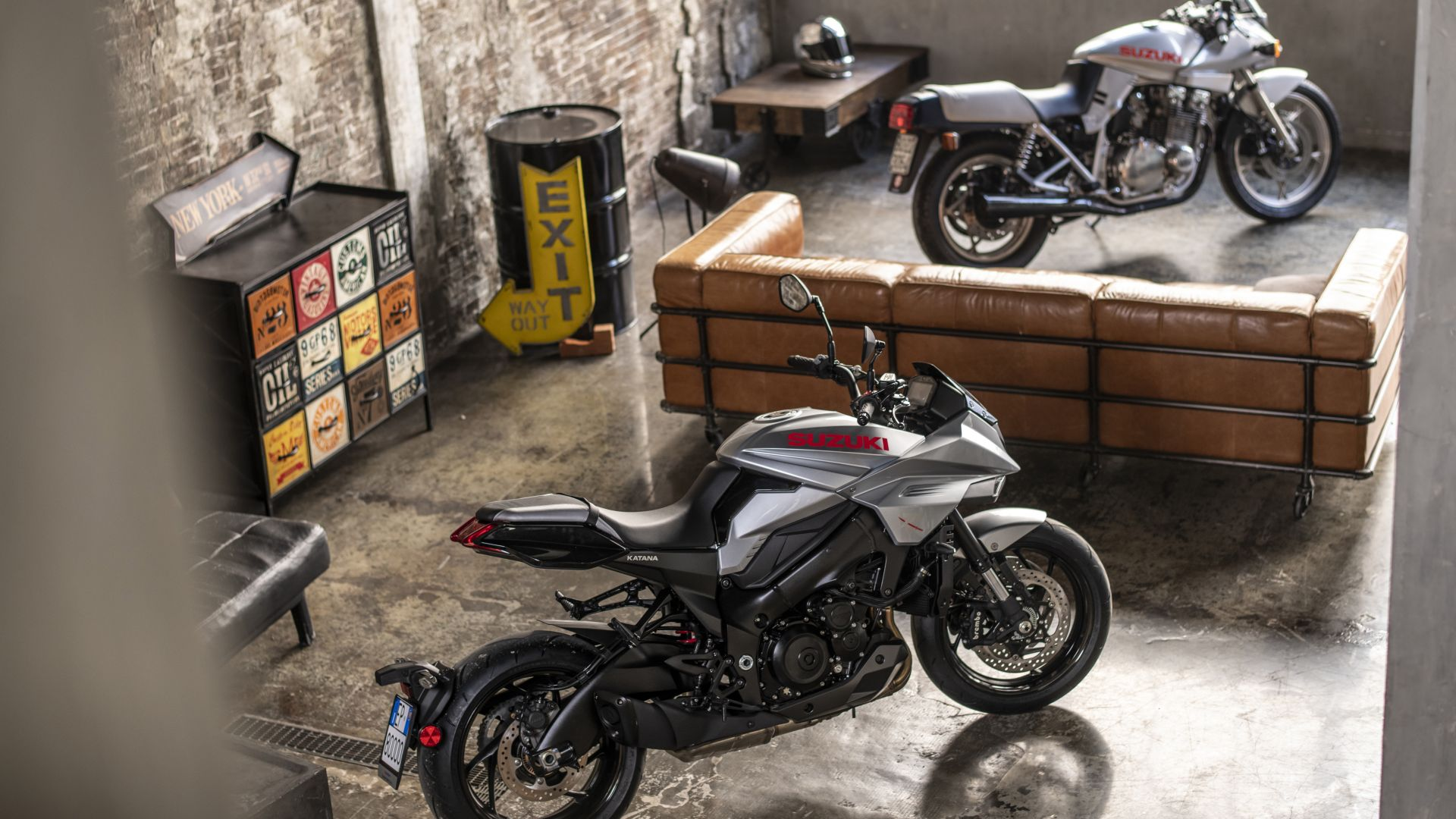Suzuki Katana vecchia e nuova