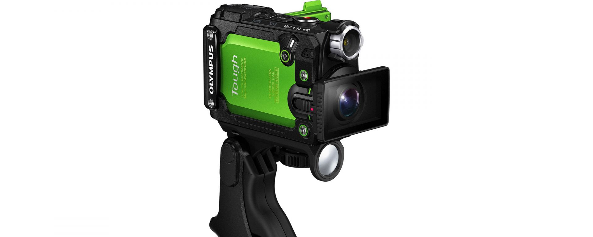 Olympus Tough TG-Tracker: l'action cam che ti dice dove sei