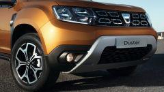 Nuovo Dacia Duster 2018: muscoloso il frontale con paracolpi più ampio