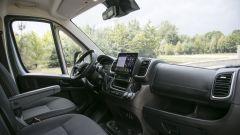 Nuovo Fiat Ducato 2021: l'abitacolo del furgone