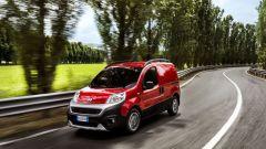 Nuovo Fiat Fiorino, ha un vano con capacità fino a 2,8 m³ e portata utile fino a 660 kg