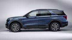 Nuovo Ford Explorer 2019: vista laterale