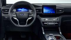 Nuovo Ford Explorer Plug-In Hybrid 2020: il volante