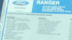 Nuovo Ford Ranger 2019, spiata la versione Single Cab - Immagine: 6