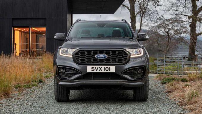 Nuovo Ford Ranger MS-RT: il frontale del pick-up americano