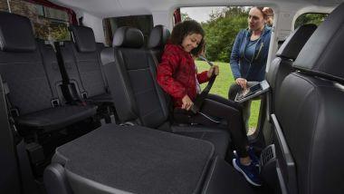 Nuovo Ford Tourneo Connect 2021: gli interni