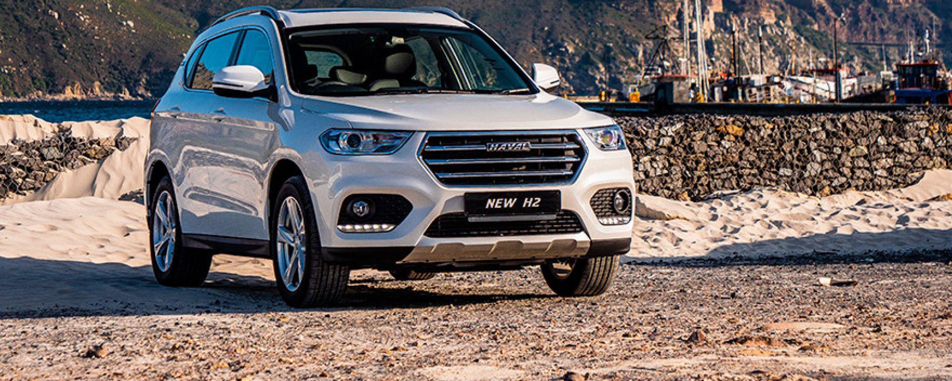 Nuovo Haval H2: il C-SUV è omologato monofuel GPL