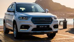 Nuovo Haval H2: il frontale