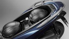 Nuovo Honda Forza 300 2018: il vano sottosella