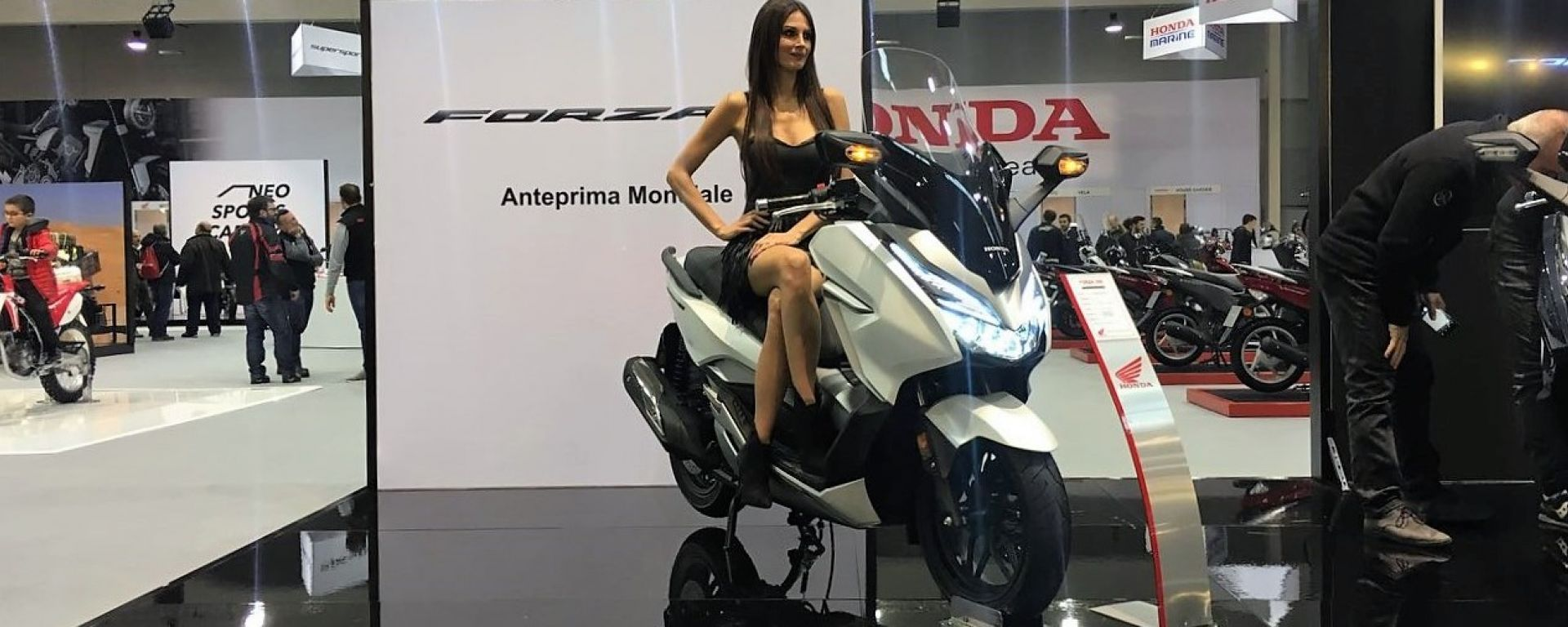 Nuovo Honda Forza 300 2018: l'anteprima mondiale al Motodays di Roma