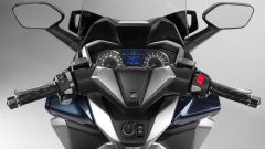 Nuovo Honda Forza 300 2018: vista della plancia