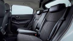 Nuovo Honda HR-V: i sedili posteriori