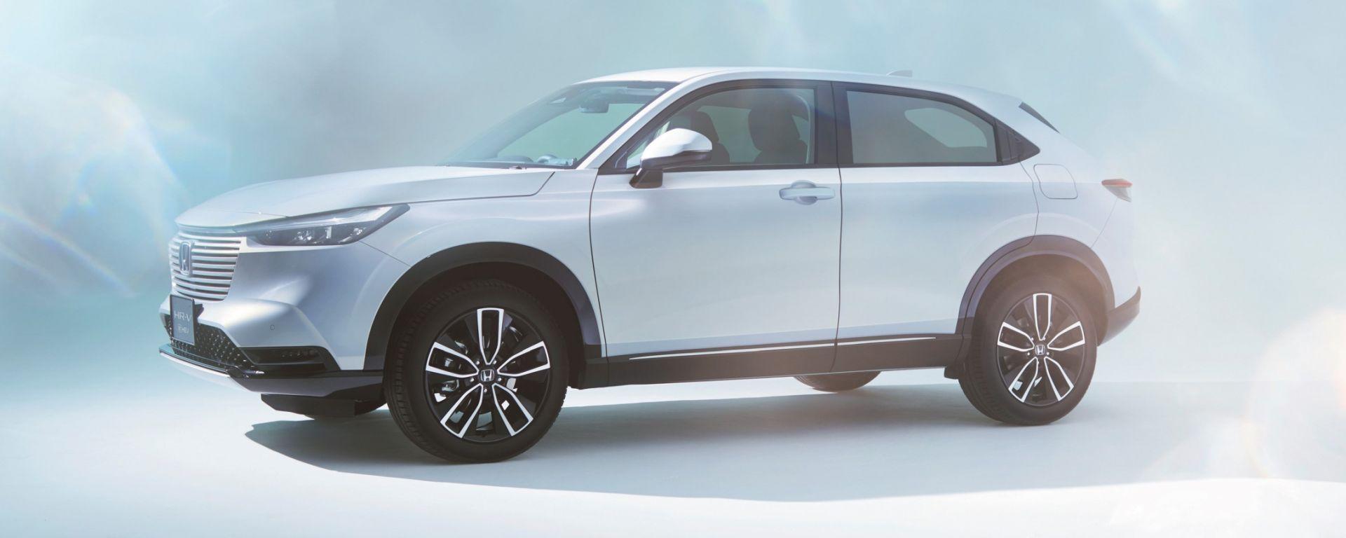 Nuovo Honda HR-V: solo con motore ibrido