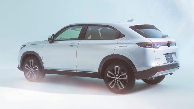 Nuovo Honda HR-V: visuale di 3/4 posteriore