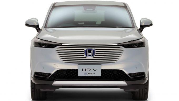 Nuovo Honda HR-V: visuale frontale